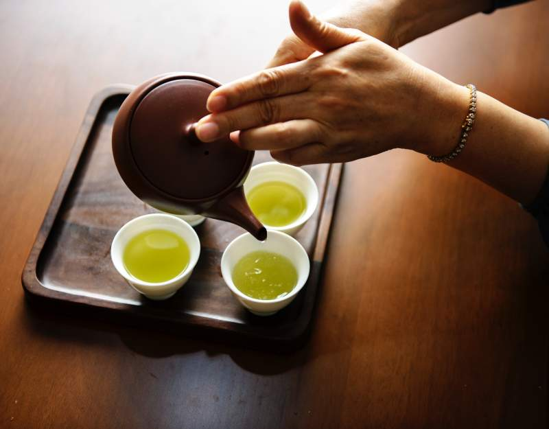 Green Tea blog header image